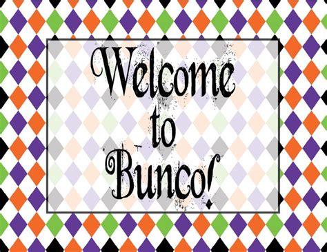 free bunco bunco printables
