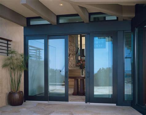 wood bi parting sliding patio doors  matching transoms