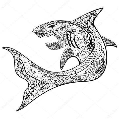 Haai Kleurplaat by Kleurplaat Haai