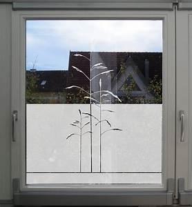 Sichtschutzfolie Für Fenster : sichtschutz folie f r fenster mit gr sern ~ A.2002-acura-tl-radio.info Haus und Dekorationen