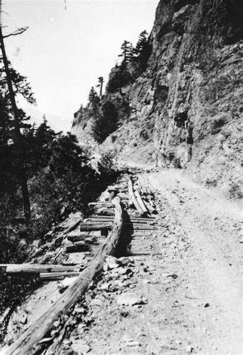 construction   fraser canyon highway