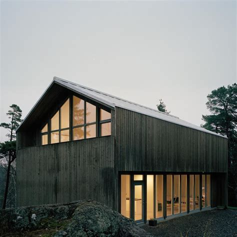 swedish prefab homes ah 001 arkitekthus houses pinterest garage a house and sweden
