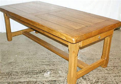 table de cuisine avec rallonges tables de ferme et ronde meubles rustiques en bois massif