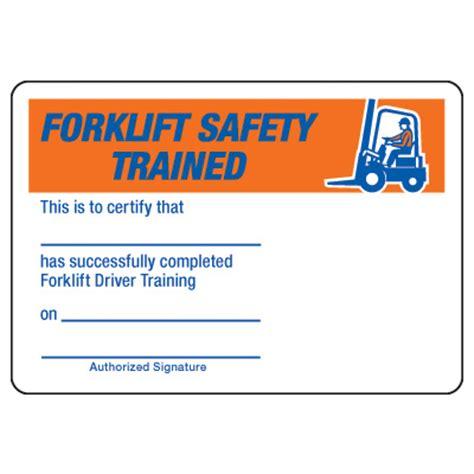 certification photo wallet cards forklift safety driver