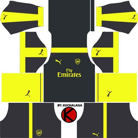 Arsenal Kits URLs Released – Dream League Soccer