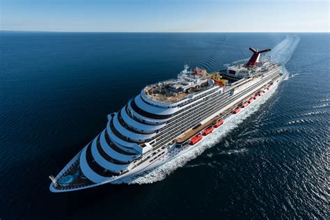 Carnival Vista Boat by Carnival Vista On Transatlantic Cruise For Arrival