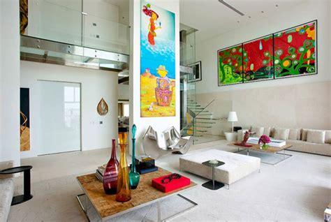 Designer Details Colorful Home by Colorful Interior Designs That Exude Modern Elegance