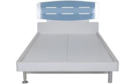 white  blue twin bed  kidsonline  india