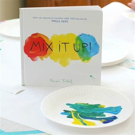 book about mixing colors coloring pages