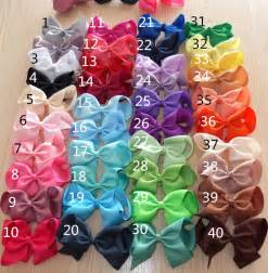 3 inch grosgrain ribbon wholesale aliexpress buy 40 colors you colors 6 inch