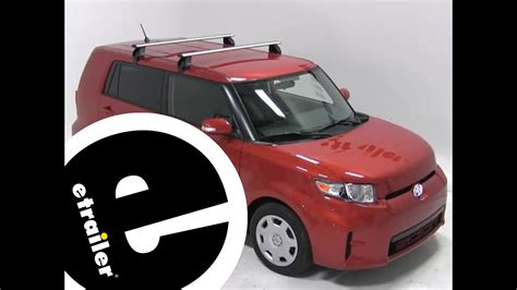 installation   rhino rack roof rack    scion xb