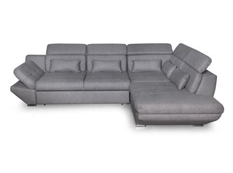 canapé gris foncé canapé convertible avec tiroir tissu gris foncé bali