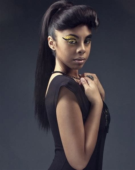 Stylish Hairstyles For Black Hair by Ponytail Hairstyles For Black Stylish