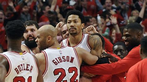 derrick rose hits ridiculous game winner expresses