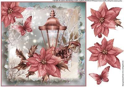 beautiful christmas lantern topper cup