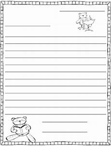 best photos of 2nd grade friendly letter template With letter writing template for first grade
