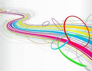 Free abstract colorful wave line background Vector | Free ...