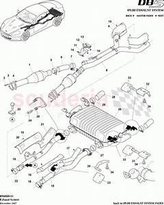 Aston Martin Dbs V12 Exhaust System Parts