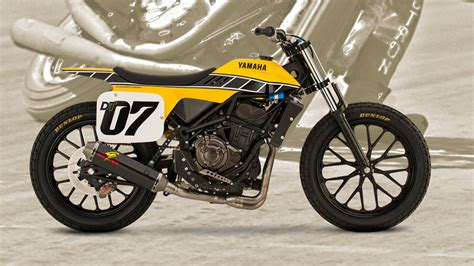 Yamaha Just Released This Amazing Dirt Tracker Concept Bike