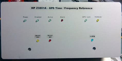 Gps Disciplined Frequency Std Modifications