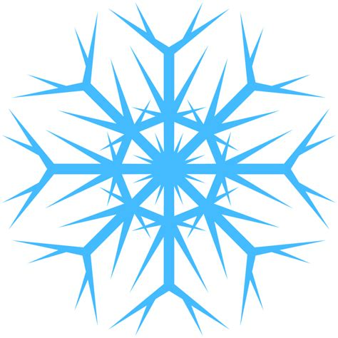 Transparent Background Snowflake Logo Png by Blue Snowflake Png 5