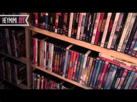 diy dvd shelves quick  cheap dvd storage shelf youtube
