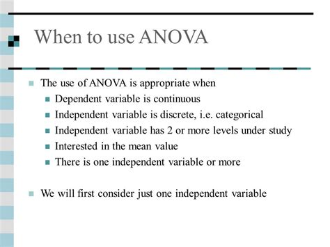 Statistics And Anova Me 470 Fall Ppt Video Online Download