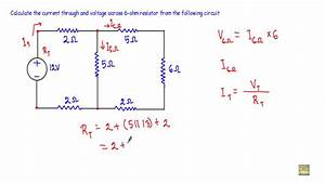 Current And Voltage In Complex Series Parallel Circuit