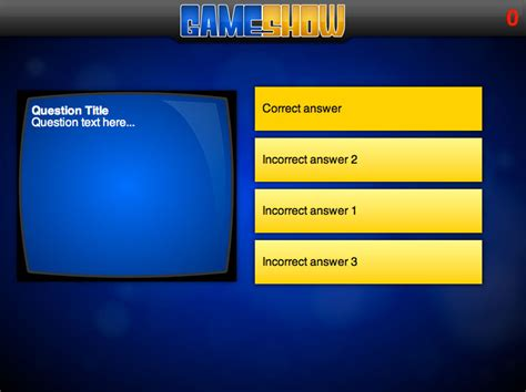 millionaire game show powerpoint template cpanjinfo