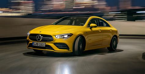 It's not as sharp to drive as one, but it's more spacious and useful. 2020 Mercedes-AMG CLA 35 debuts with 302-hp | The Torque Report