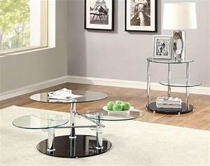 2 pc tempered glass chrome swing arm coffee table set ebay With glass and chrome coffee table sets
