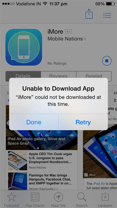 iphone apps not updating why am i unable to any apps from the app