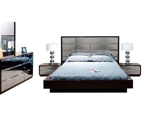 platform bed sets for sale modern black bedroom mena with mirrored headboard