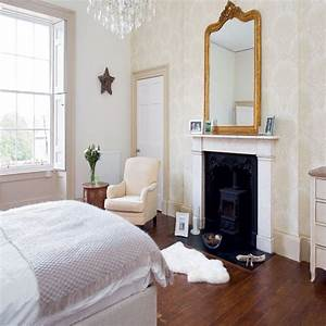 Romantic bedroom with fireplace bedroom decorating ideas for Bedroom fireplace ideas