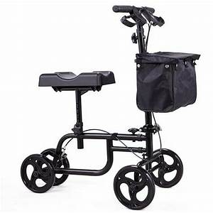 Mobility Equipment Walker Deluxe Steerable Cycle Knee Scooter