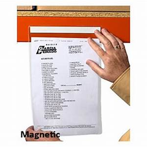 magnetic self adhesive document holders davpack With magnetic document protectors