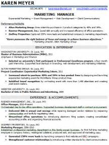 advertising resumes entry level entry level marketing and sales resume