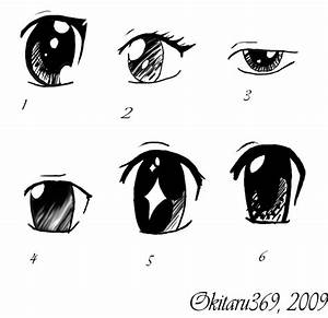 Draw manga anime eyes with pen or pencil | Draw This ...