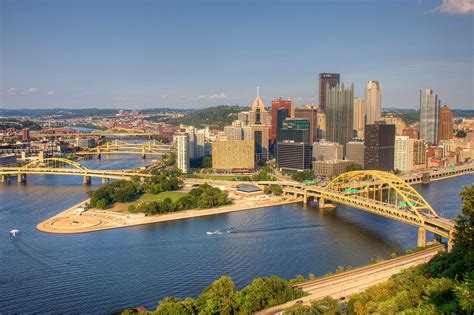 Images Pittsburgh File View Of Downtown Pittsburgh From Mount Washington