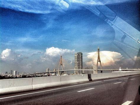 ท้องฟ้า ฌ สะพานภูมิพล   ท้องฟ้า