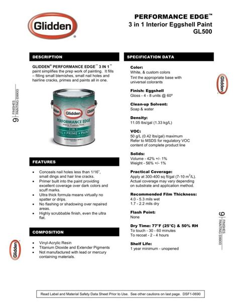 interior paint msds decoratingspecial