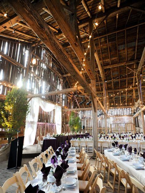 barn wedding venues  canada weddingbells