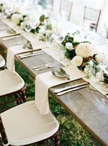 wedding table setting ideas wedding trends 12 table runners centerpiece decoration ideas