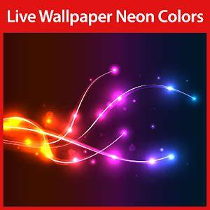 App Neon Colors Live Wallpaper apk for kindle fire
