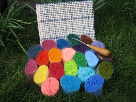 Latch Hook Rug Yarn Pre Cut by Utterly Hooked Designs Latch Hook Kits For Rugs