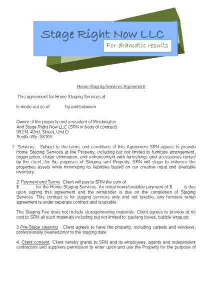 employment contract template word templates