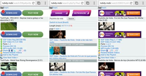 Tubidy is a popular mobile video search engine which searches mp3 songs for you, within a blink of an eye. Conheça os formatos do Tubidy Mobile e baixe vídeos no ...