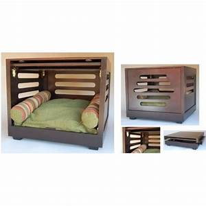 various choices of designer dog crates for you homesfeed With modern dog crate furniture