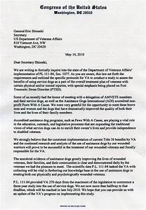 Best photos of ptsd support letter examples va buddy for Service pet letter