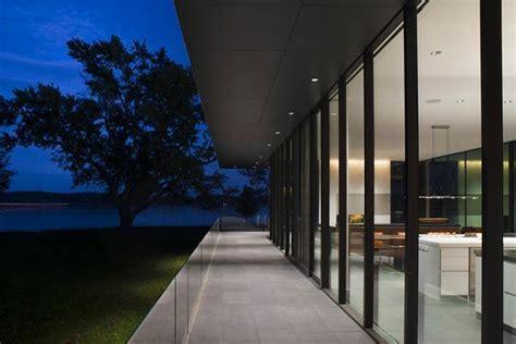 glass wall design creating modern house interiors